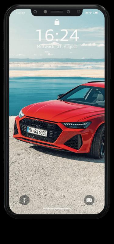 Kalendermotive Audi RS6 Avant Wallpaper