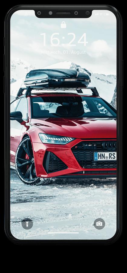 Audi RS7 Sportback iPhone Wallpaper