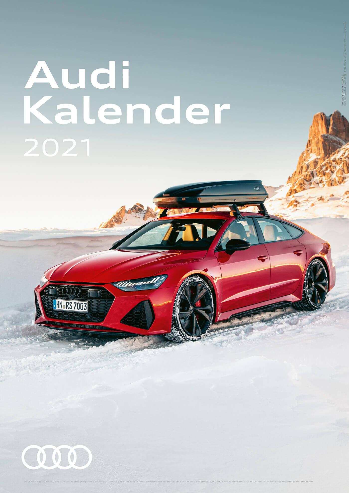Audi Kalender 2021 - DIN A3 / Audi RS7 Sportback