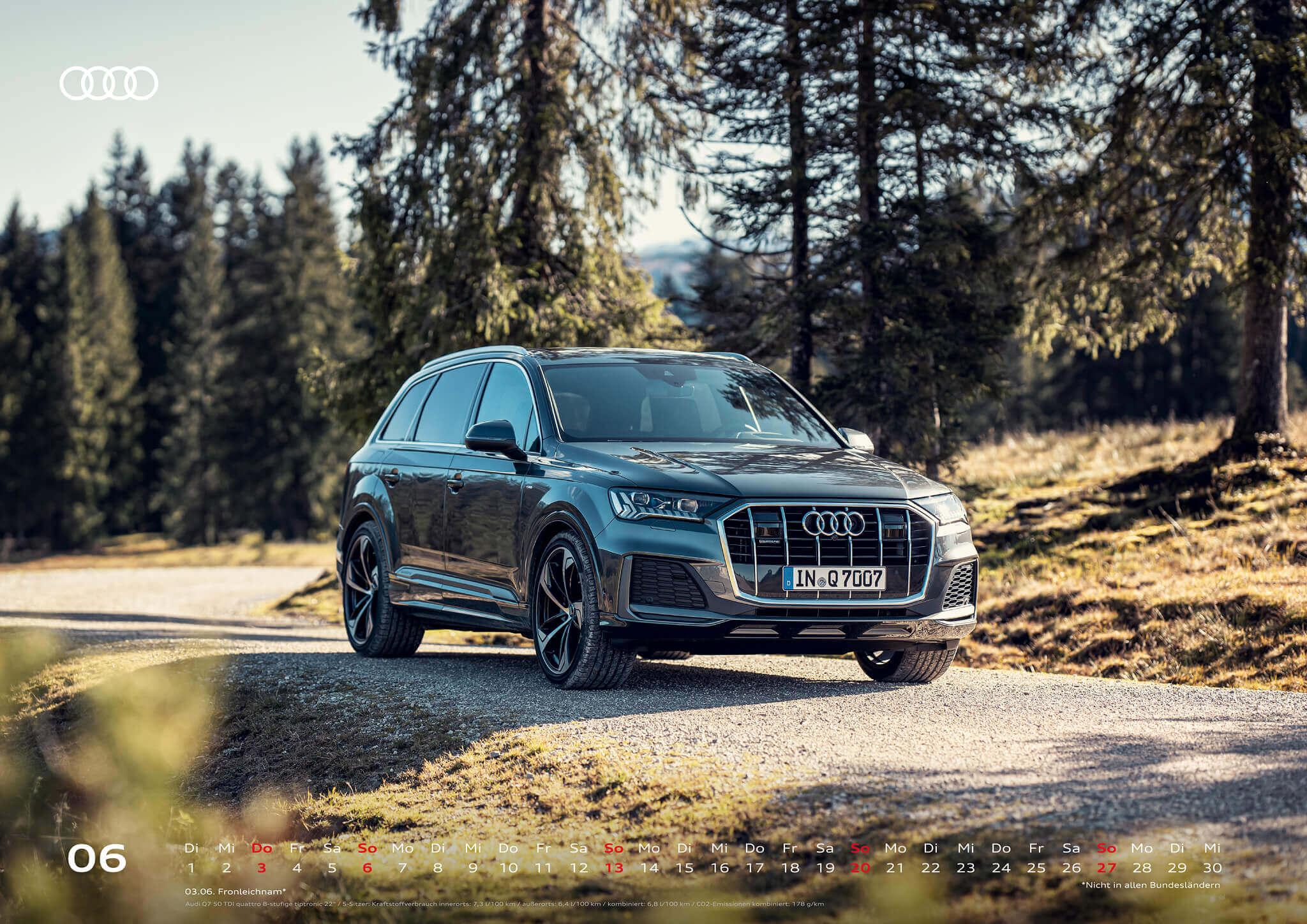 Audi Kalender 2021 - DIN A2 / Audi Q7