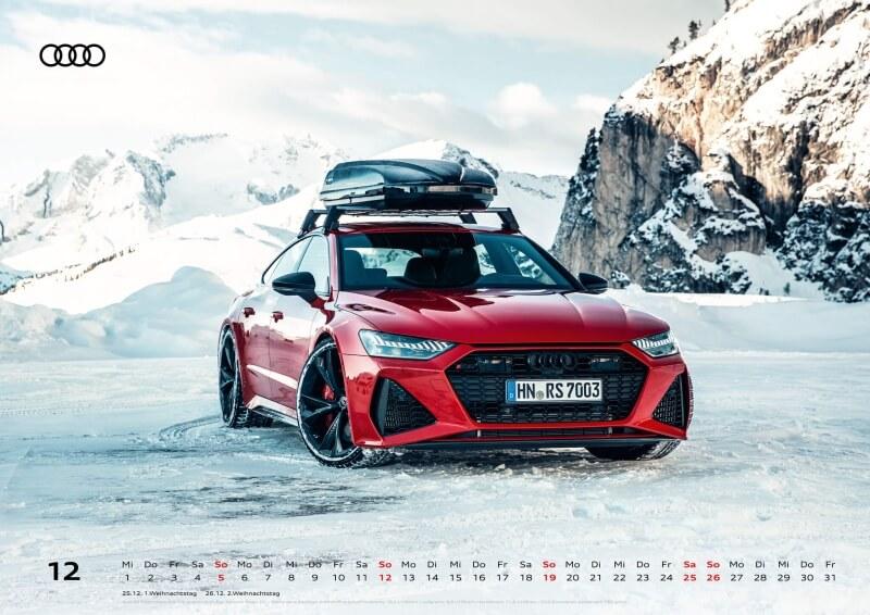 Audi Kalender 2021 - DIN A2 / Audi RS7 Sportback