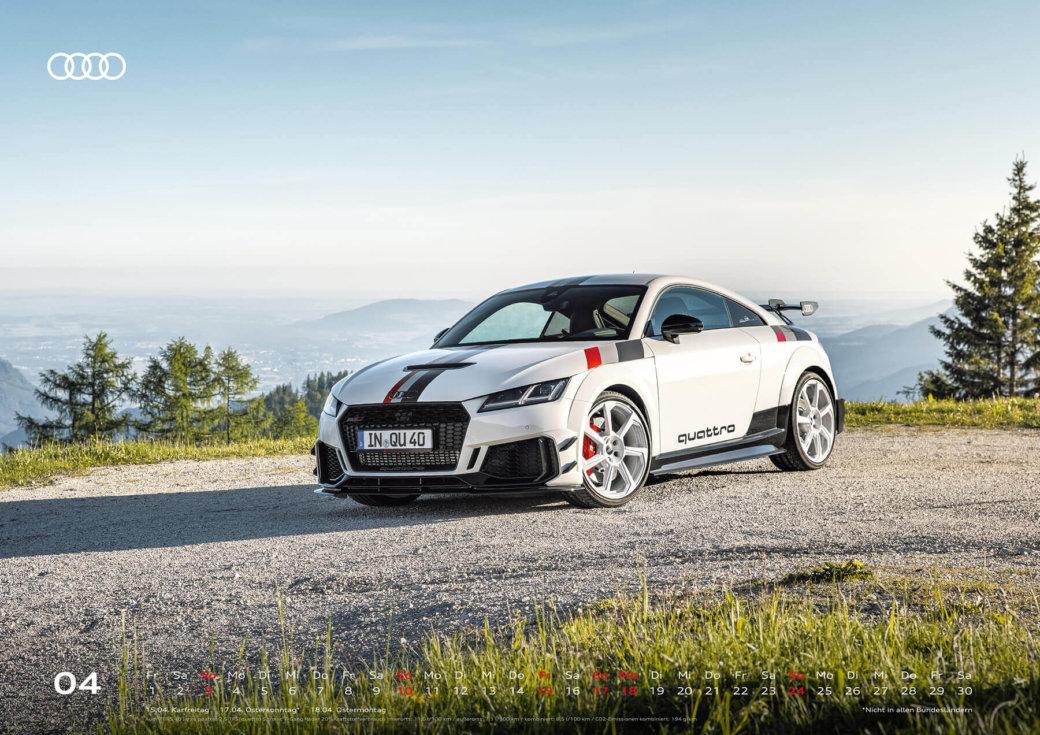 Audi Wandkalender 2022 A2 Mai