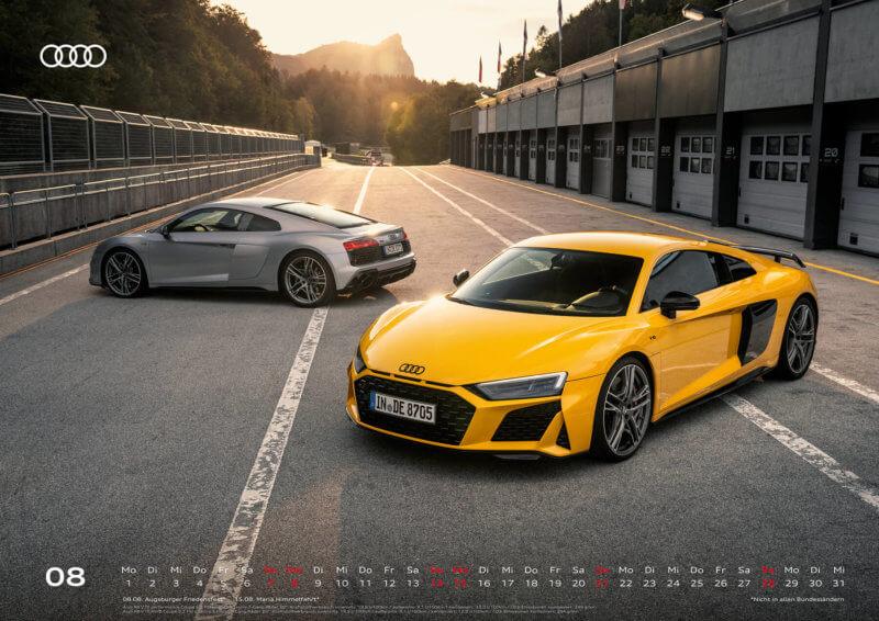 Audi Kalender 2022 A2 August