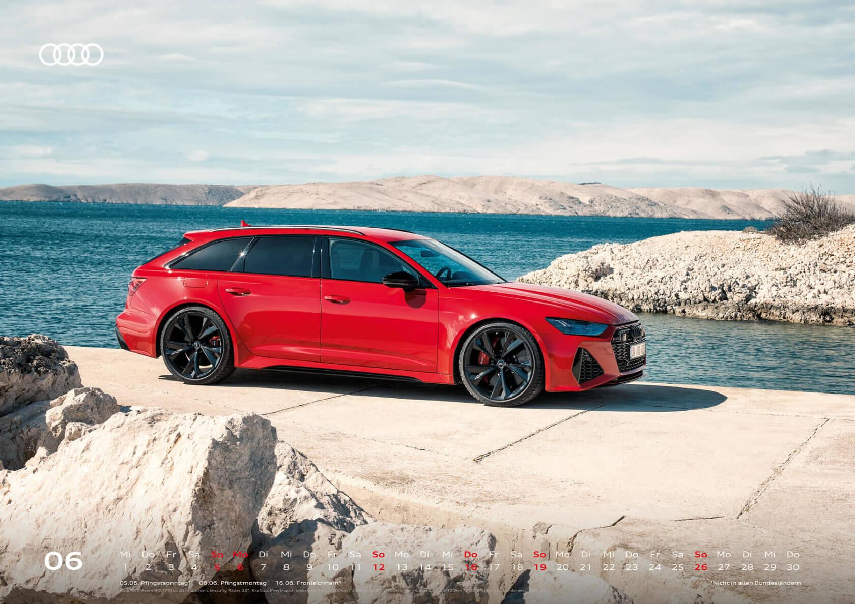 Audi Kalender 2022 A2 Juni