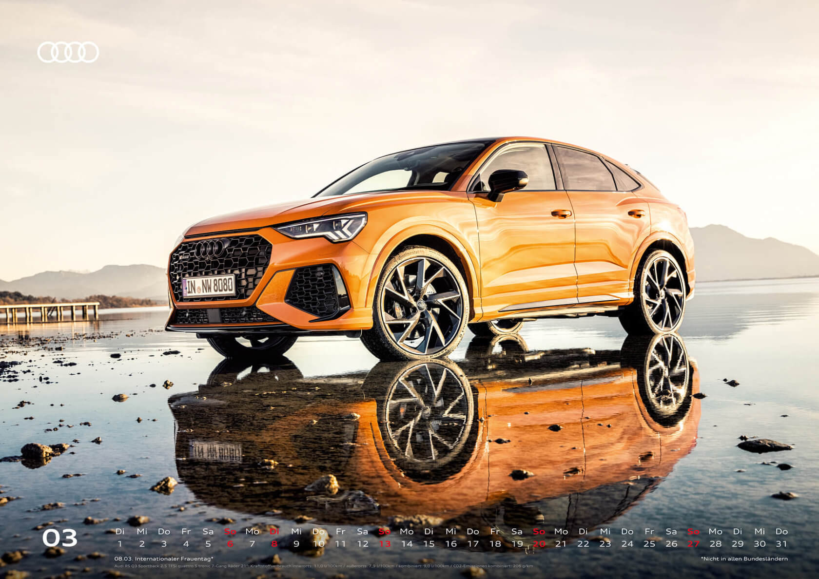 Audi Kalender 2022 A2 März