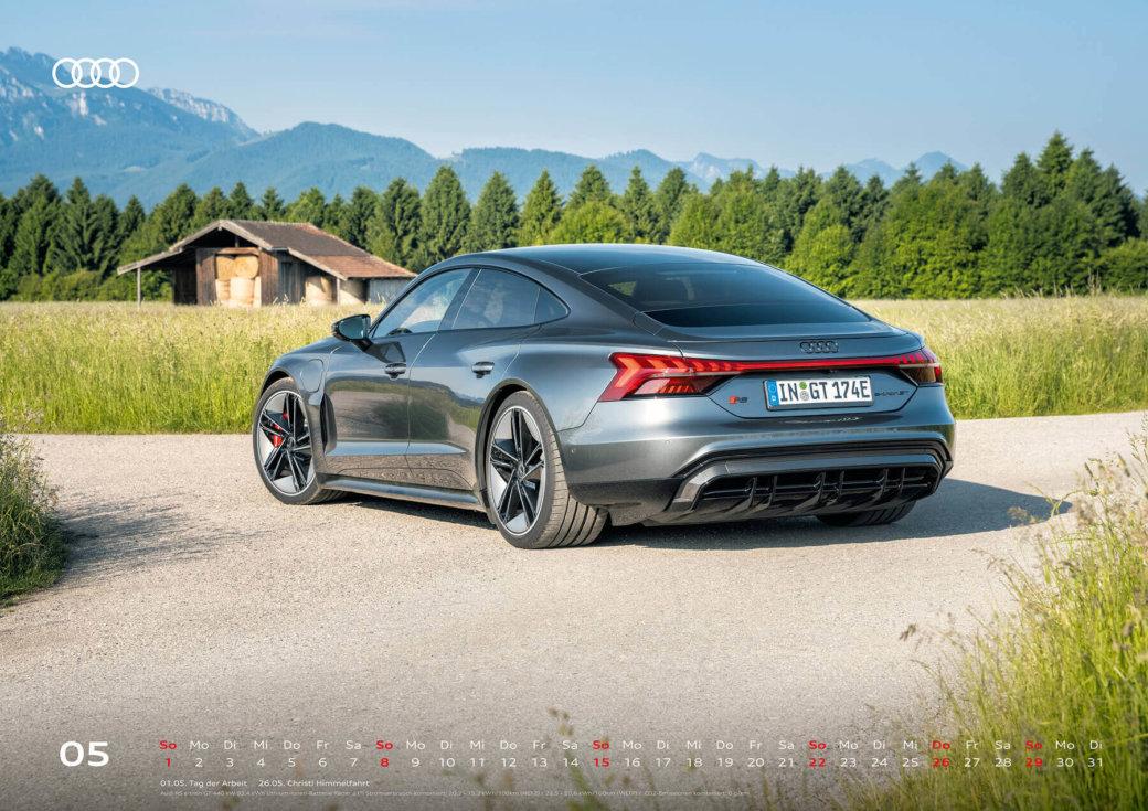 Audi Kalender 2022 A2 Mai