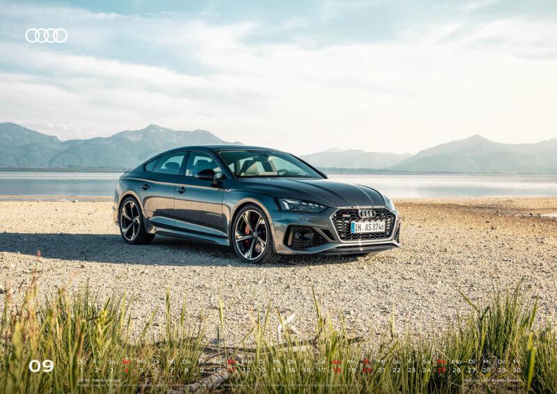 Audi Kalender 2022 A2 September
