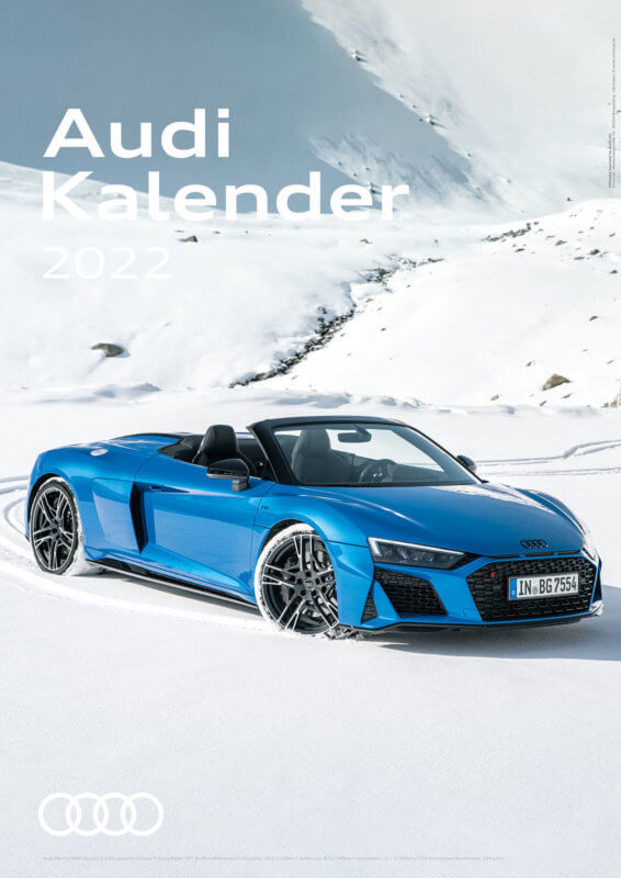Audi Kalender 2022 A3 Cover
