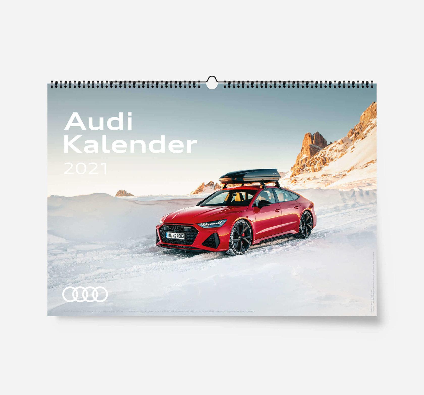 Audi Kalender 2021 - DIN A2