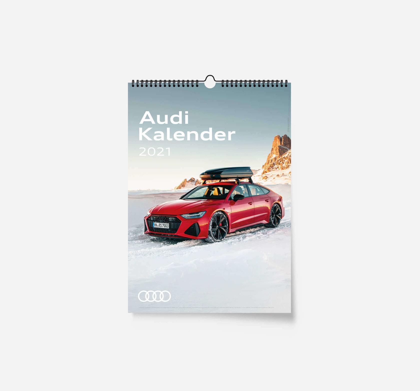 Audi Kalender 2021 - DIN A3