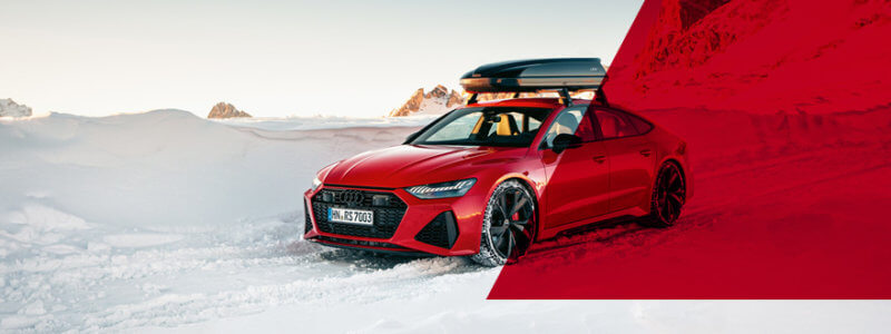 Kalendermotive / Audi RS 7 Sportback im Winter