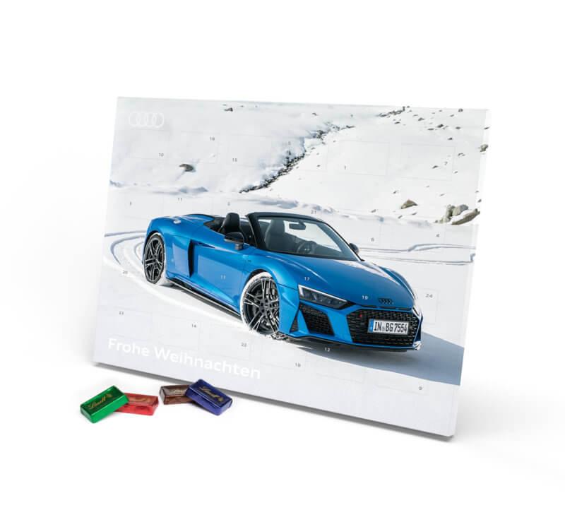 Audi Lindt Adventskalender Vollmilchschokolade