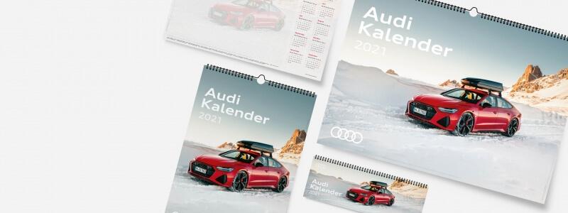 Audi Kalender 2021 Produktübersicht