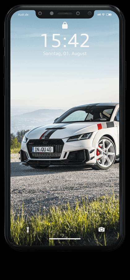 iPhone Mockup Audi TTRS